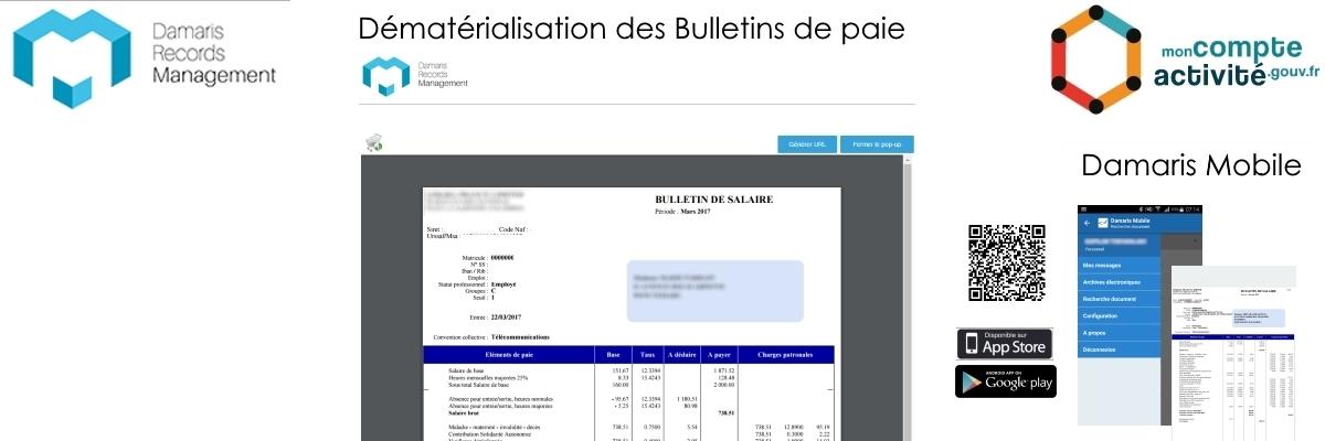 Bulletin de paie numérique