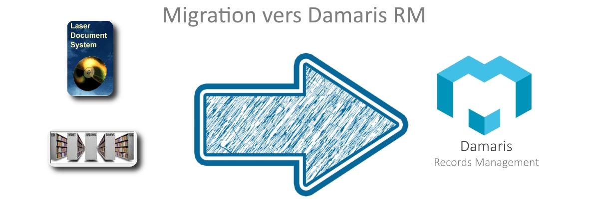 Migration vers Damaris RM