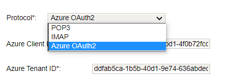 Modern Authentication OAuth2